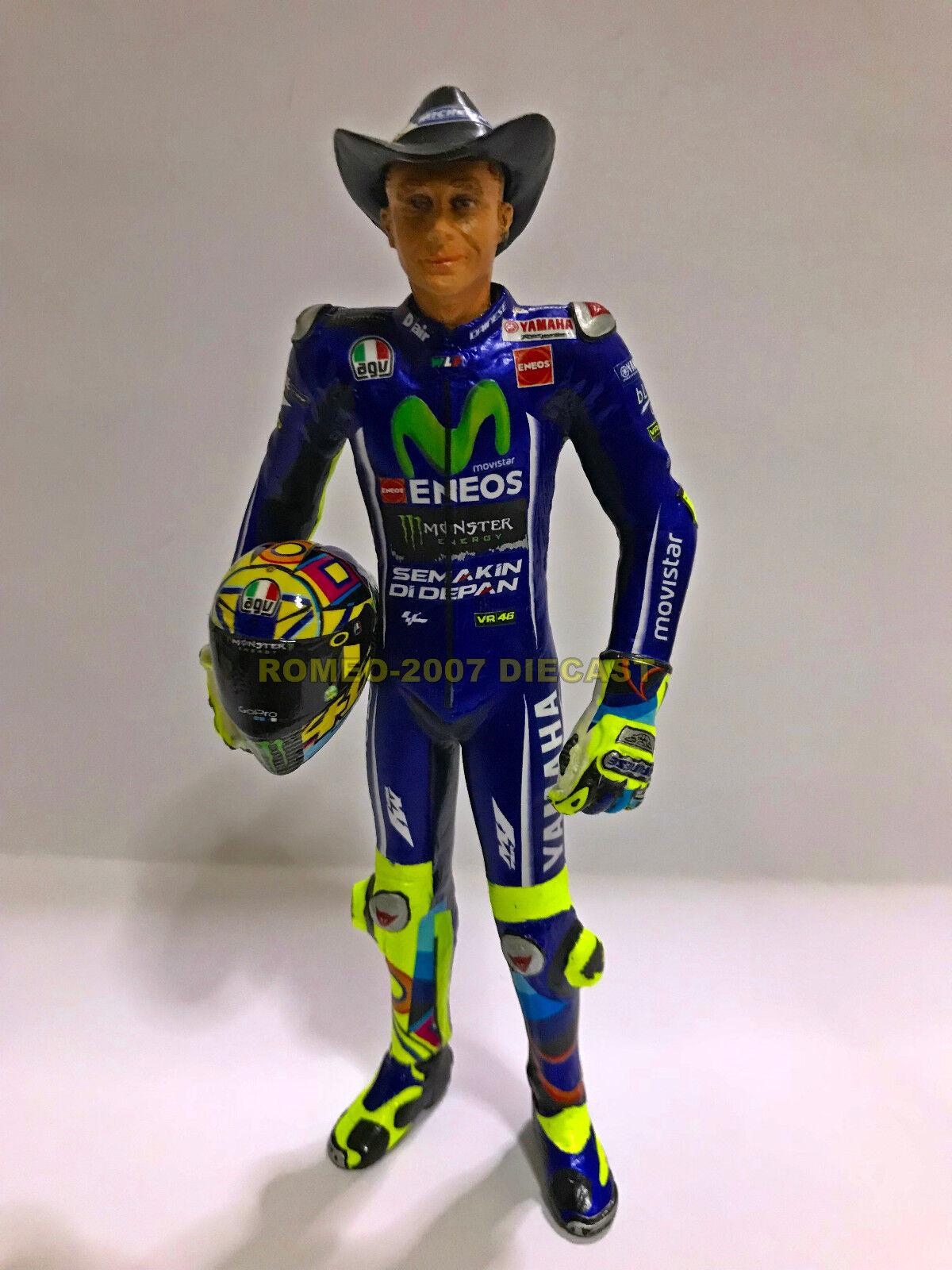 1 12 Conversión Minichamps Figure Figurine Valentino Rossi Austin Austin Austin Texas 2017 NEW d51775
