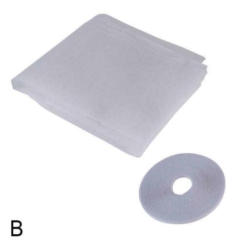 Magnetische Fenstermaschennetz-Türvorhänge verhindern Moskito-Fliegenwanze E0L8