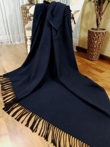 100/% coton Plaid couverture très doux plaid 130x170cm toutes les couleurs