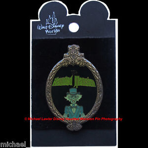 Disney Haunted Mansion Ezra Ghost Oval Frame Pin Hitchhiking Ghosts