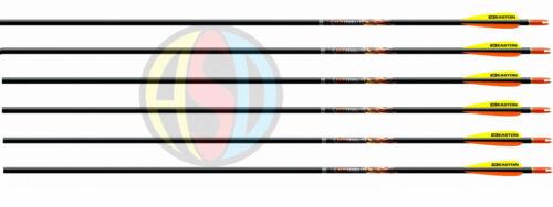 Easton XX75 hommage flèches flèches aluminium précis tailles spéciales /& quantité