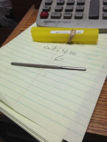 ".1378/"" 3.5mm HIGH SPEED STEEL CHUCKING REAMER"