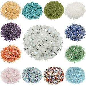 1LB-Various-Tumbled-Crystal-Gemstone-Crushed-Chips-Undrilled-Reiki-Wicca-Healing