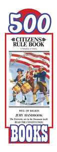Original Citizens Rule Book Bill of Rights Jury Handbook Pocket Sized (500 pack)