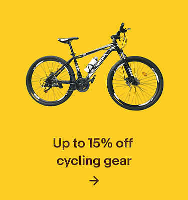Up to 15% off cycling gear