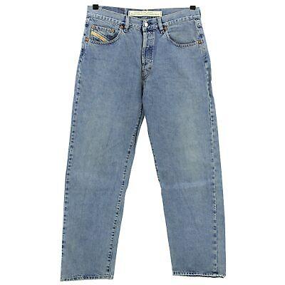 #4057 Diesel Jeans Uomo Pantaloni Cheyenne 720 Denim Blue Stone Blu 36/32- Prestazioni Affidabili