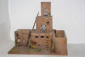 3044-Apachen-Pueblo-Acaraho-zu-7-cm-Sammelfiguren-Fertigmodell-in-Composite