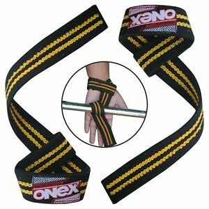 Heavy-Duty-Gym-Straps-Weight-Lifting-Hand-Bar-Wrist-Support-Exercise-Gloves-Wrap