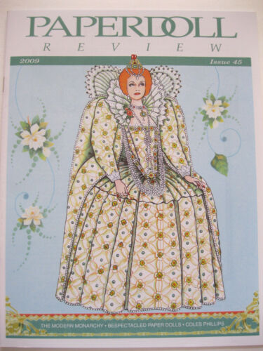 Paperdoll Review Magazine Issue #45, 2009-Royalty, PDs w/Glasses, Coles Phillips