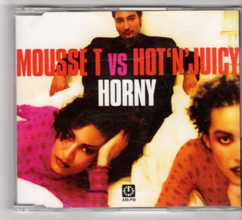 1 of 1 - (GU372) Mousse T vs Hot 'n' Juicy, Horny - 1998 CD