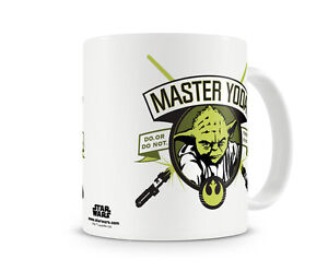 Star Wars Mug Licensed Officially Details Yoda About Coffee Master Merchandise eDIEHYW92