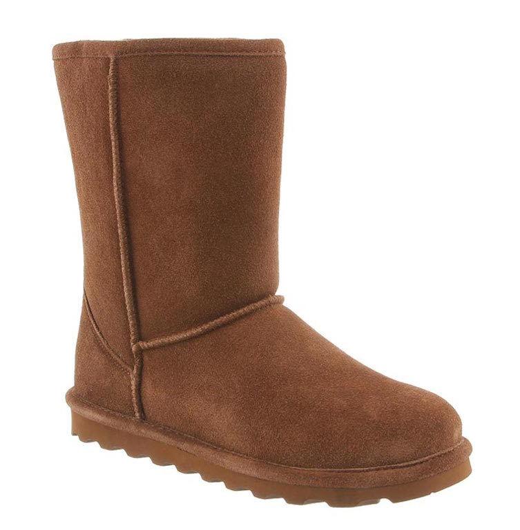 botas de invierno para mujer Bearpaw Elle Corto-Hickory Gamuza [1962W]