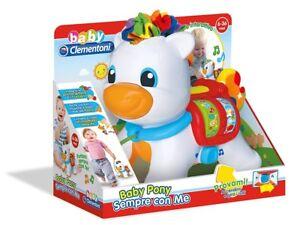 Giochi educativi per bambini prima infanzia Baby Pony Sempre con Me Clementoni