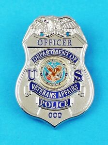 Veterans Affairs Police Officer Mini Badge Refrigerator Magnet | eBay