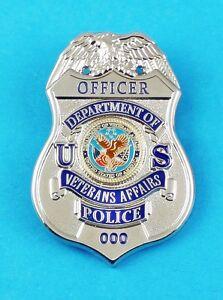 Veterans Affairs Police Officer Mini Badge Refrigerator Magnet | eBay