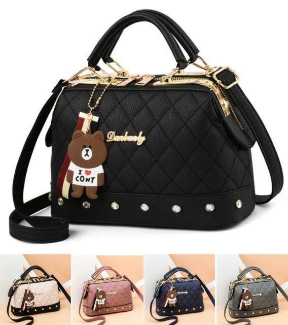 220c56f171d9 Women Handbag Leather Briefcase Shoulder Bag Tote Purse Ladies Satchel  Messenger