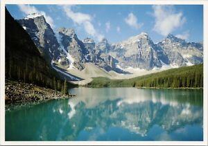 Details About Moraine Lake Alberta Ab Near Lake Louise Unused Vintage Postcard D38