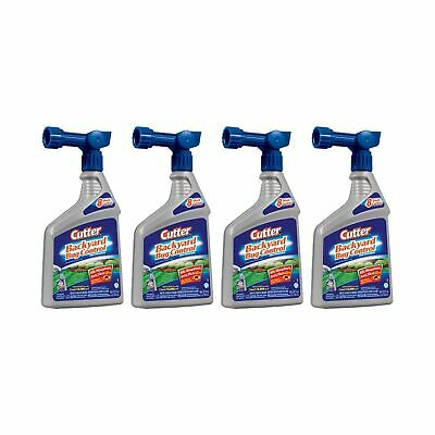 Cutter Backyard Bug Control Concentrate 32oz Hose Spray ...