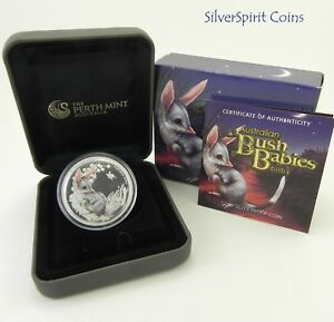 2011-AUSTRALIAN-BUSH-BABIES-BILBY-Silver-Proof-Coin