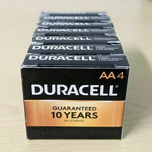 Duracell AA Battery Alkaline Batteries Copper Top MN1500 - 4 Pack