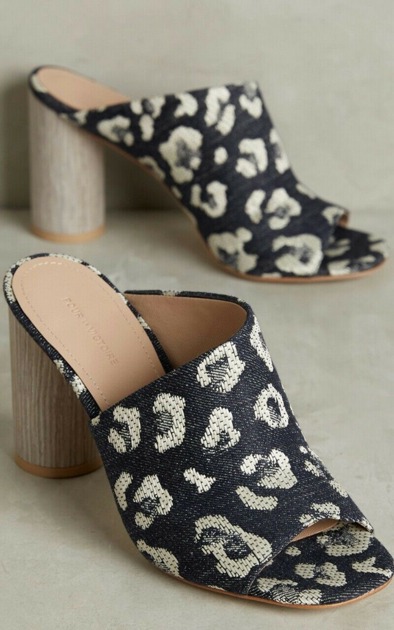 alla moda Anthropologie Helena Mules Slides by Pour La Victoire Victoire Victoire Circular Heel Dimensione 7.5  Felice shopping