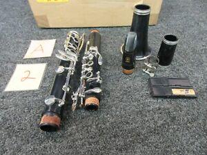 éNergique Yamaha Clarinette #20 Japon Woodwind Instrument Musique A Besoin De Liège Pour Les Joints-afficher Le Titre D'origine Beau Lustre