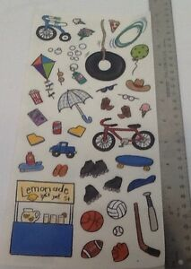 Details about NEW KIDS Accessories Lemonade Stand STICKERS SCRAPBOOKING ME  & MY BIG IDEAS