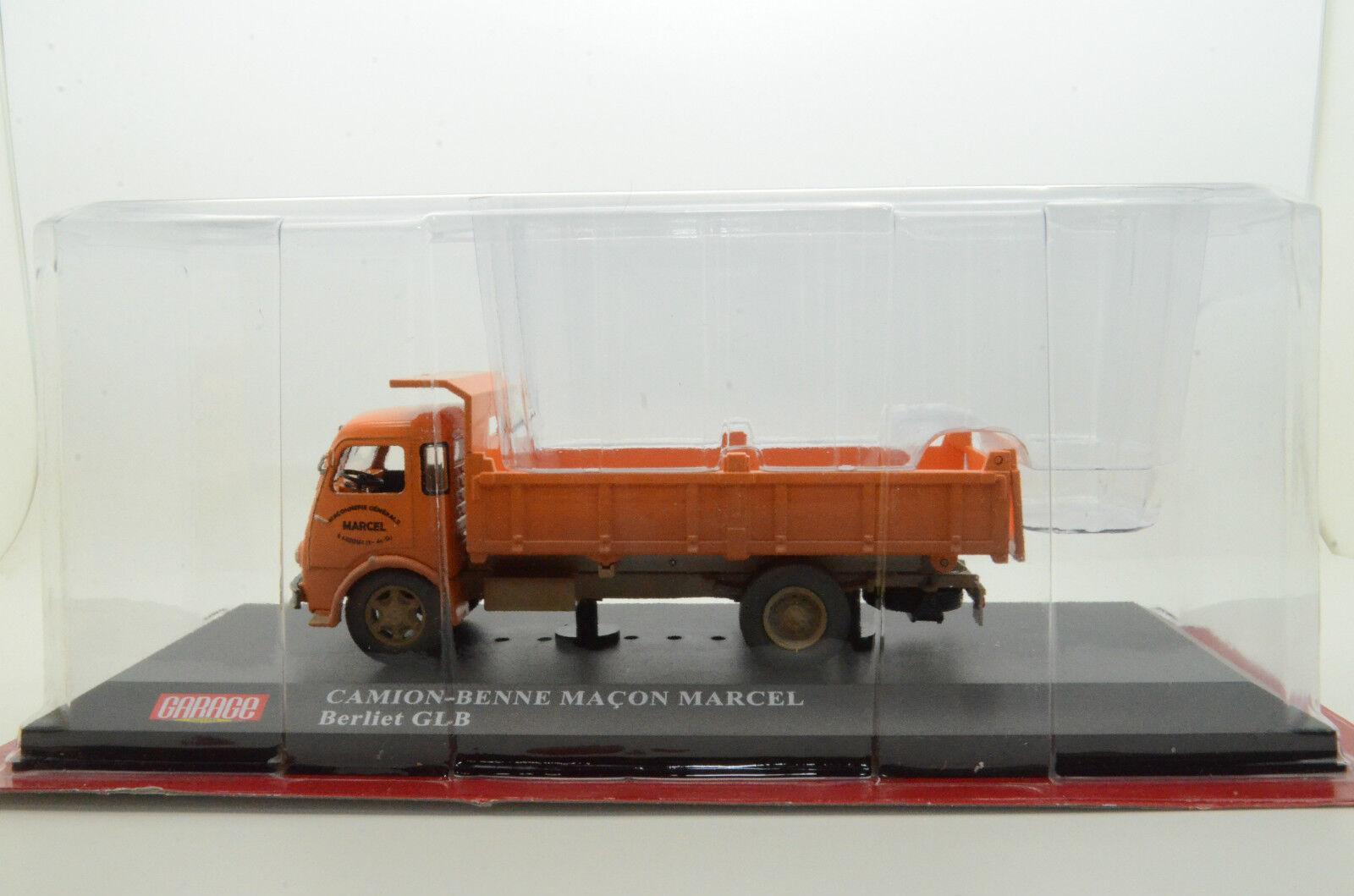rara BERLIET GLB Camion Ajonjoli Macon Marcel camión 1/43 ALTAYA/IXO