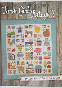 Farm-Girl-Vintage-2-fabulous-sampler-block-book-by-Lori-Holt