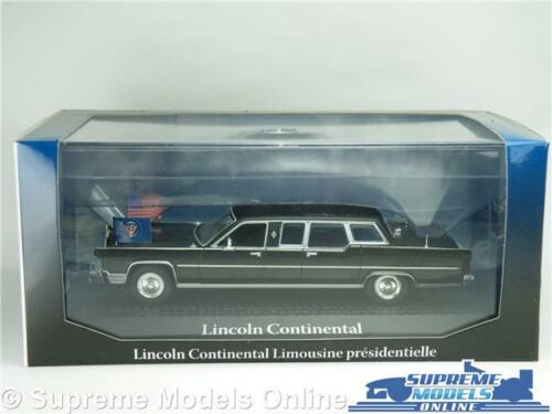 LINCOLN CONTINENTAL RONALD REAGAN MODEL CAR 1:43 SCALE NOREV PRESIDENTIAL K8