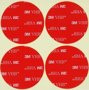 5/10 Pièces 38/58mm 3M ™ 5952 Adhésif Double Face Vhb A Mousse Acrylique Orig