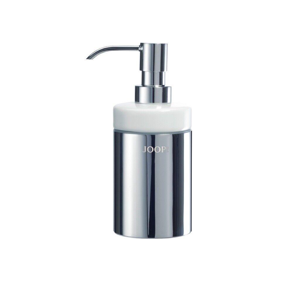JOOP  Chromeline Seifenspender Chrom Keramik weiß Bad Accessoires Badezimmer Badezimmer Badezimmer | Lebhaft  efc9c7