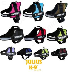 JULIUS-K9-POWER-HARNESS-STRONG-ADJUSTABLE-amp-REFLECTIVE-DOG-PUPPY-HARNESSES