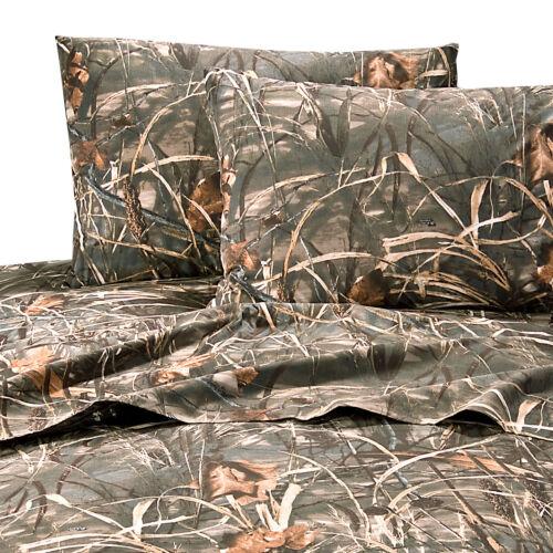 Realtree Camo Max-4 Sheets Set Camouflage Bedding