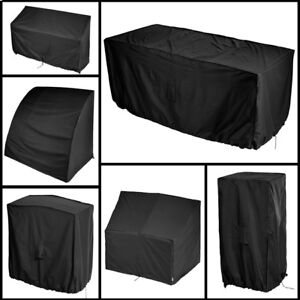Black-Waterproof-Outdoor-Table-BBQ-Bench-Chair-Garden-Cover-Small-Medium-Large