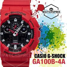 Casio G-Shock Bold Face, Analog-Digital Series Watch GA100B-4A
