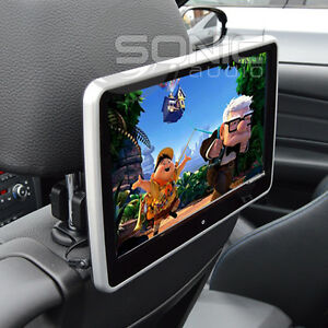 Clip on 12v plug and play car hd headrest dvd playerscreen usbsd image is loading clip on 12v plug and play car hd publicscrutiny Image collections