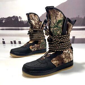 NEW Nike Air Force 1 SF AF1 Hi Black