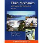 Fluid Mechanics with Engineering Applications by E. John Finnemore, Joseph B. Franzini (Paperback, 2001)