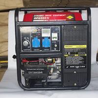 Electric Start Petrol Inverter Generator 230v 7200w Max8000w Generator Power