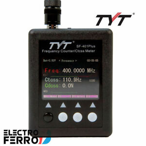 TYT SF-401 PLUS, Frecuencímetro digital de 27 - 3000 MHz. Escanea DMR