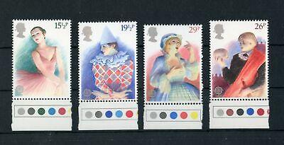 141213 Briefmarken Neue Mode Gb Nr.914-917 ** Europa Unterransatz Farbampeln !!!