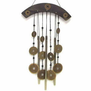 High Quality Image Is Loading Wind Chime Chinese Coin Metal Garden Ornament Feng