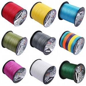Power-1000M-1093yds-12-Colors-10LB-100LB-Dorisea-Dyneema-Braided-Fishing-Line
