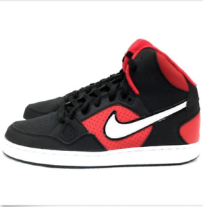 Nike Men's Son Son Son Of Force Mid 616281-018 Size 10.5 shoes Red Black White NEW 90de18