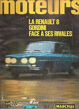 MOTEURS 58 1966 R8 GORDINI 1300 TOUR DE CORSE CRIT CEVENNES GP USA MEXIQUE CANAM