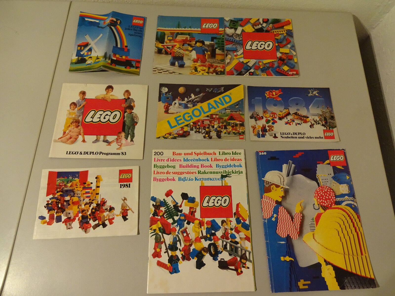 (SR) Lego Duplo Catalogues Brochures Flyer Selection of used RARE