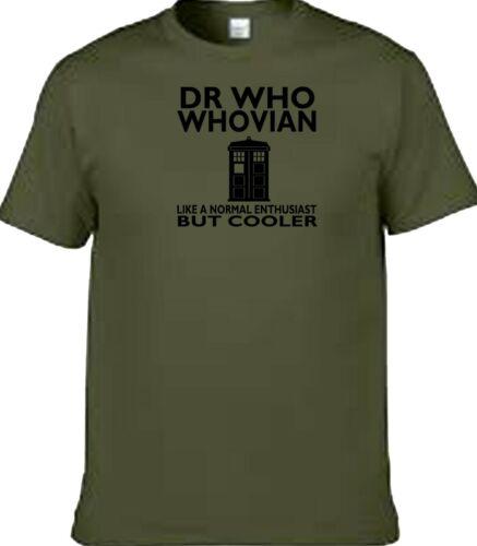 Dr Who dad grandad fan watching or no1 design t shirt
