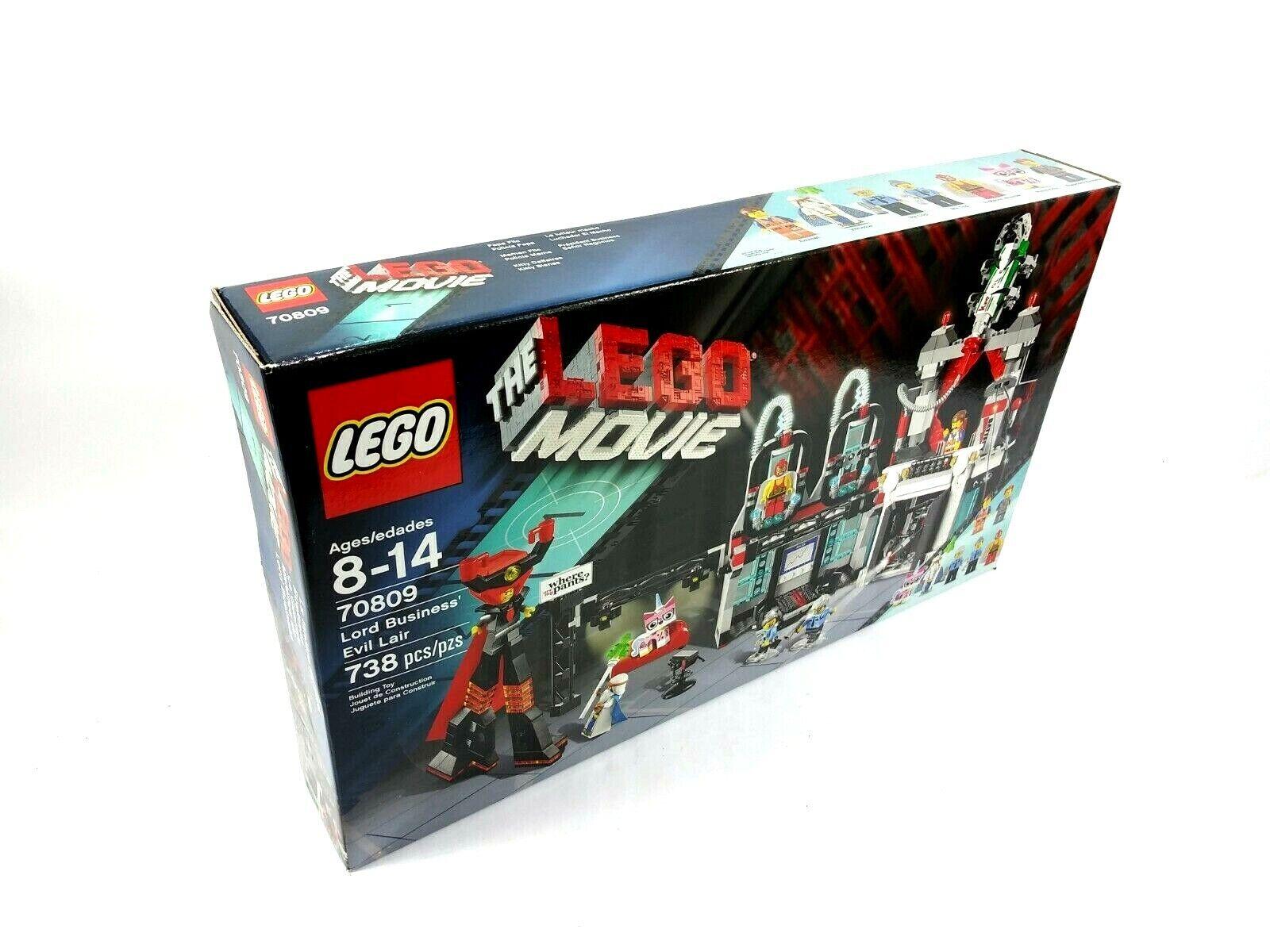 LEGO Lord autobusiness' Evil Lair (70809) (Discontinued Lego  Set) T26M  economico e di alta qualità