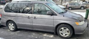 2000 Honda Odyssey - 290kms - Runs and Drives